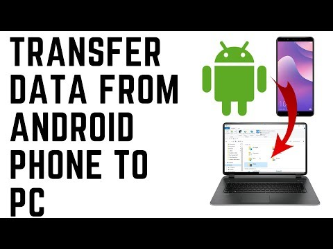 Mobile to pc data transfer