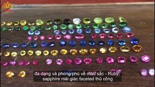Vẻ đẹp mê mẩn của đá quý thiên nhiên Việt Nam - iRuby