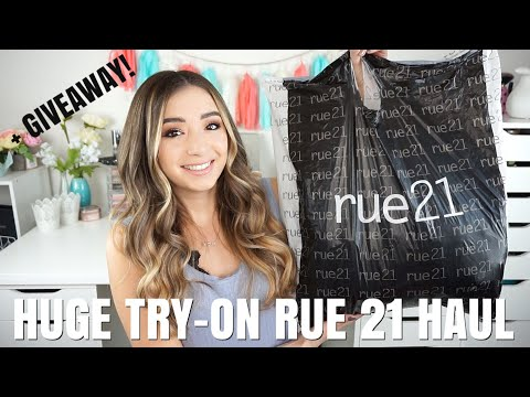 3631432dbbd HUGE AFFORDABLE TRY-ON RUE 21 HAUL + GIVEAWAY