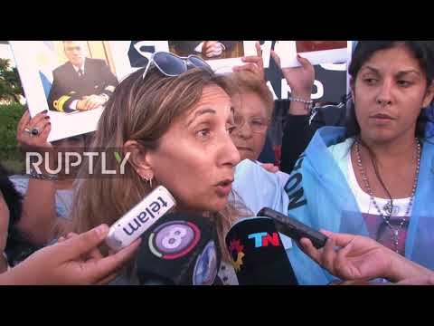 Argentina: Families and friends demand answers about vanished submarine crew