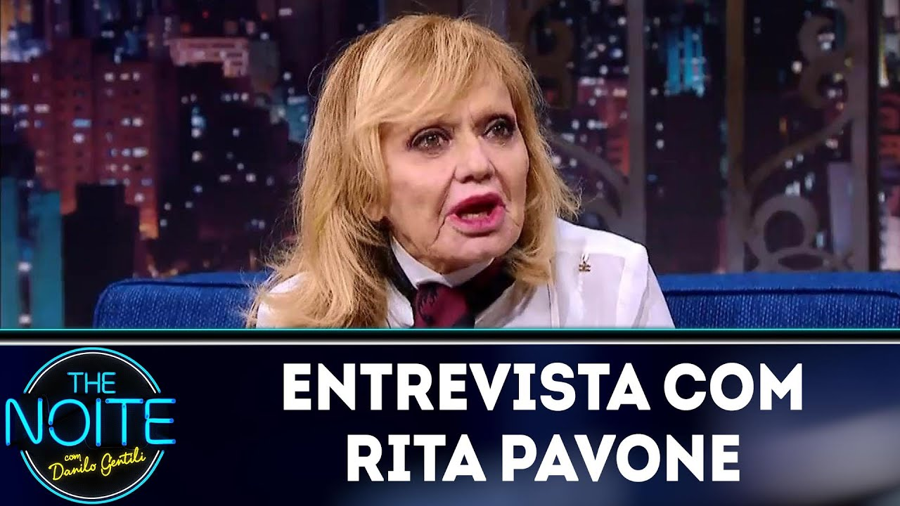 Entrevista Com Rita Pavone The Noite 14 05 18 Youtube