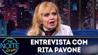 Entrevista Com Rita Pavone | The Noite  14/05/18