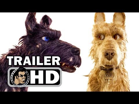 ISLE OF DOGS   2018 Wes Anderson, Bryan Cranston Animated Comedy Movie HD