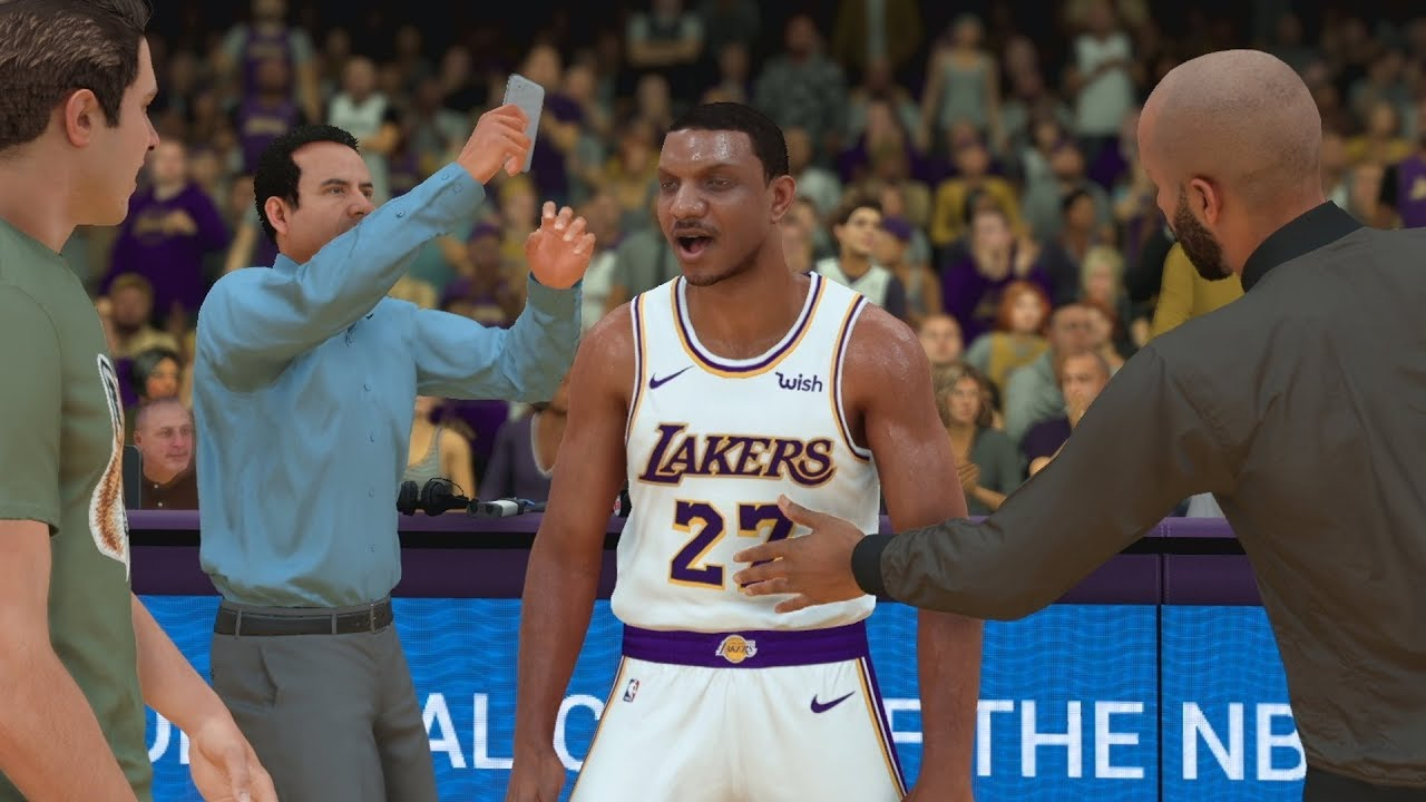 NBA 2K19 My Career Prelude EP 9 - NBA Debut Lakers!
