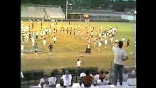 1985 Pride of Waycross   Stadium Practice