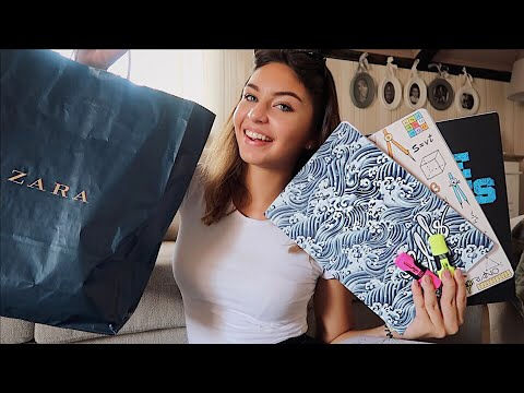 VLOG 4: Back to school shopping / haul ✏️