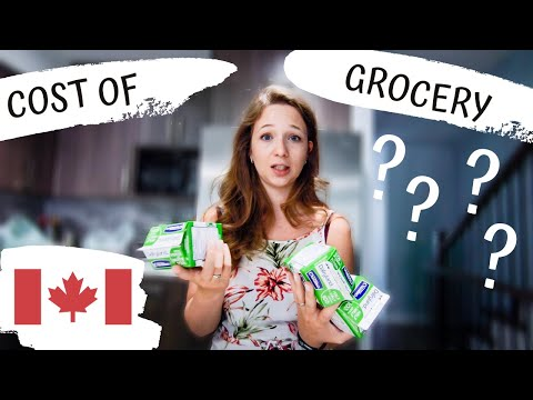 GROCERY COST In Canada | Cost Of Living In British Columbia