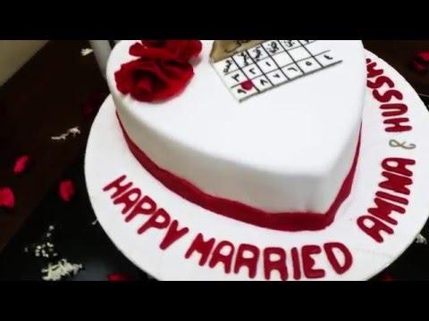 كيكة ذكرى زواج Youtube