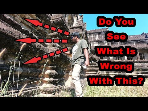 EVERY INCH of Angkor Wat has a SECRET | Evidence of Ancient Technology | Part III |Praveen Mohan