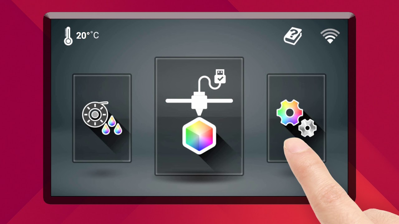 Da Vinci Colour 3D Desktop Printer