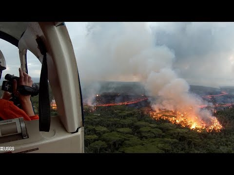 Kīlauea Volcano — Tracking Active Lava Flows