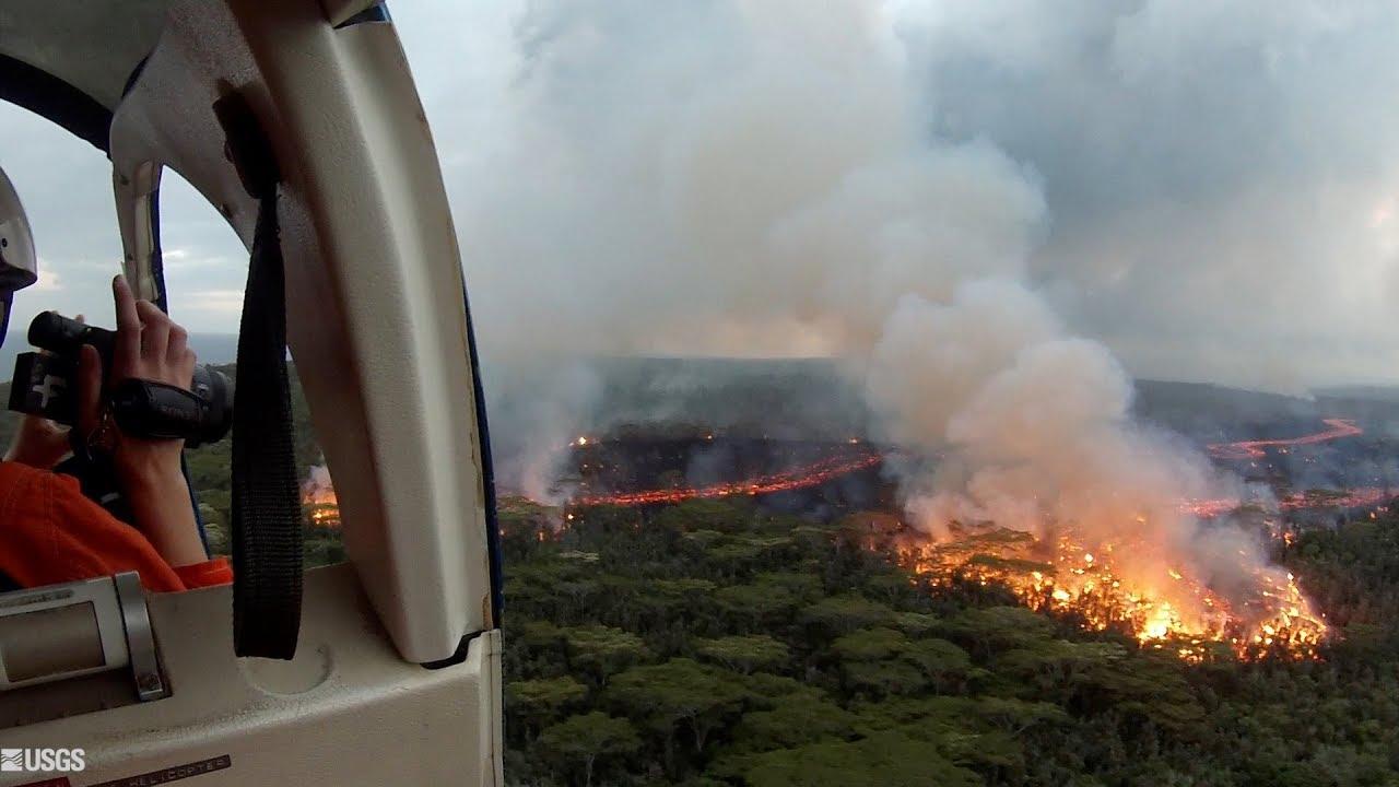 Kīlauea Volcano — Tracking Active Lava Flows