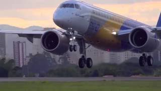 E2 First Flight  -  Best Moments