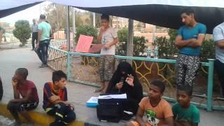 ملاية تنشرال مطالب قي خيمة الاعتصام بصرة 9 2015
