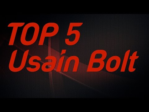 Top 5 Usain Bolt Individual Gold Medals