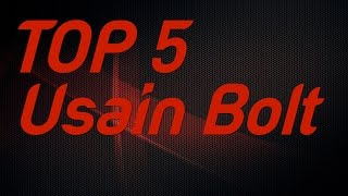 Top 5 Usain Bolt Individual Gold Medals