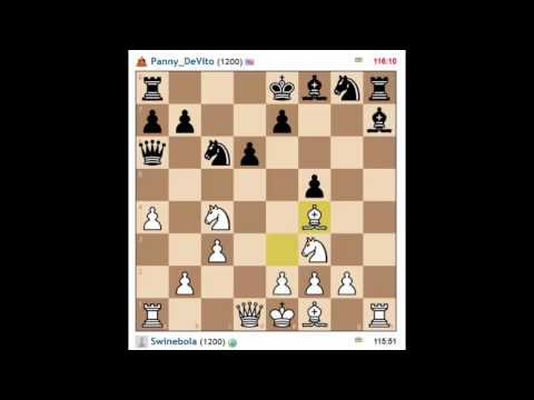 Skype Buddies Play Chess - Pan vs Shawn