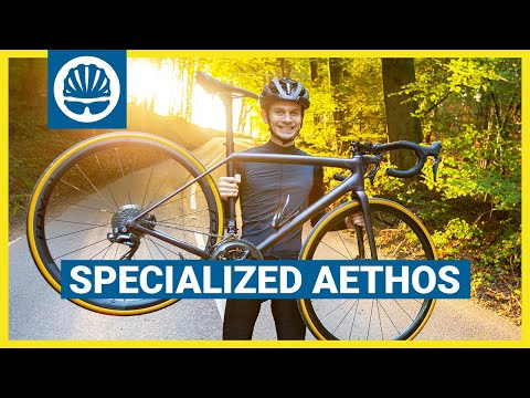 New 585g Specialized Aethos | LIGHTEST EVER Disc Frame Built For the Love