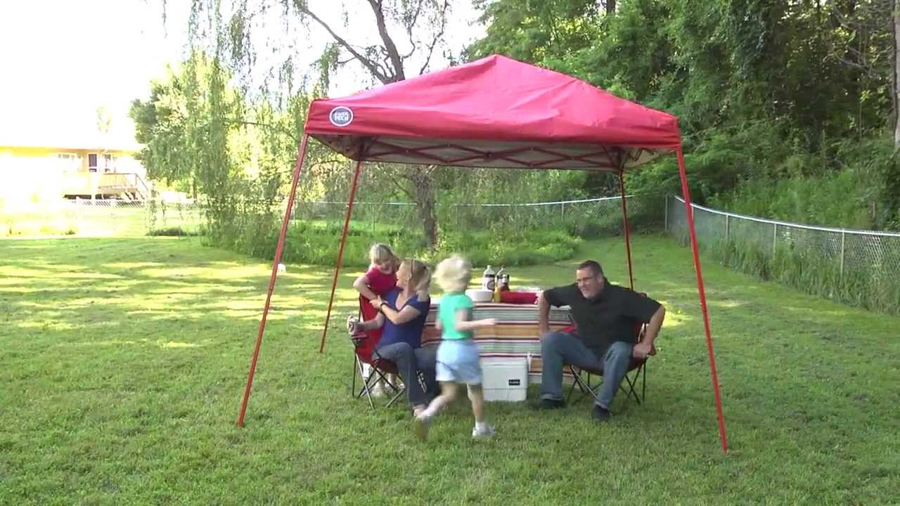 & Quik Shade - Shade Tech Instant Canopy - YouTube
