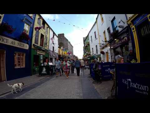 Walking Galway City, Ireland
