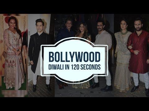Bollywood Diwali in 120 secs   Deepika Padukone   Kareena Kapoor Khan    Shilpa Shetty