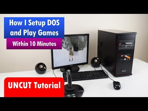 Install And Configure MS-DOS For Playing Games