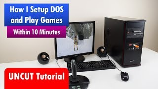 Install and configure MS-DOS for playing games Video