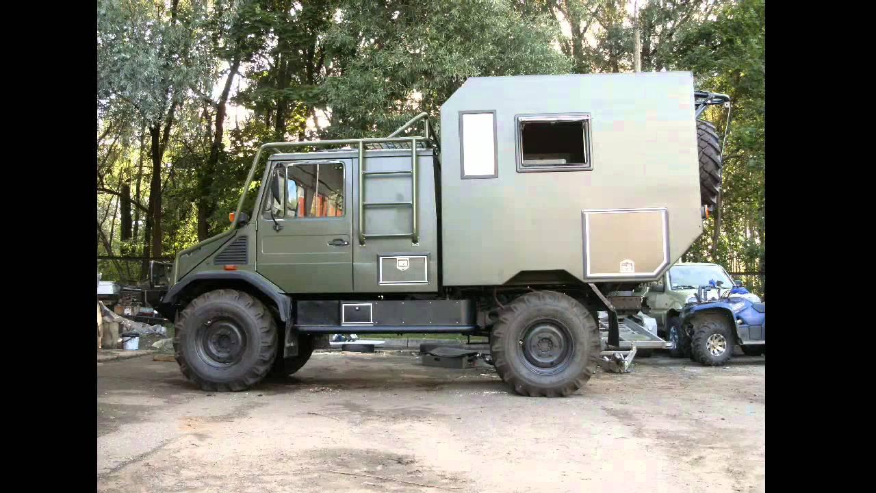 Unimog Camper For Sale >> Unimog camper - YouTube