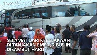 Video Selamat dari Kecelakaan di Tanjakan Emen, 2 Bus Ini Disambut Haru download MP3, 3GP, MP4, WEBM, AVI, FLV Juni 2018
