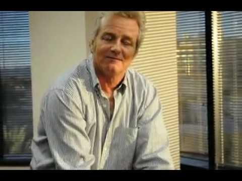 Actor WILLIAM RUSS behind the scenes of Green Guys