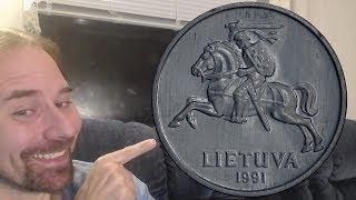 Lithuania 2 Centai 1991 Coin