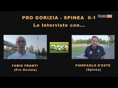 PRO GORIZIA - SPINEA 0-1  (02 giugno 2021)