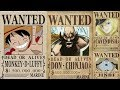 Top 10 Highest Bounties In Strawhat Grand Fleet One Piece mp3