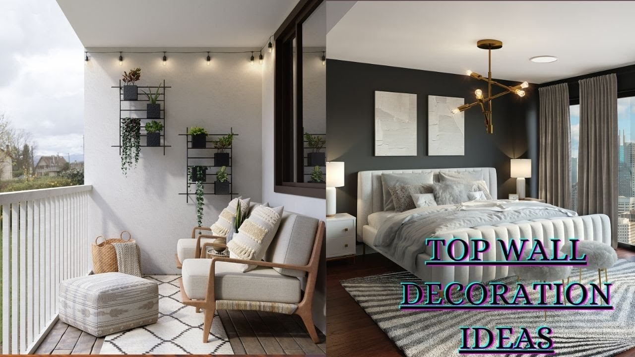 Latest Wall Decor Ideas | Home Wall Decorating For Living Room | Home decoration ideas