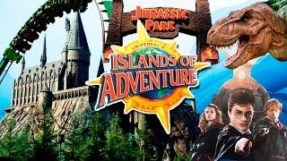 Мои путешествия. Парк Universal s Islands of Adventure (Орландо), Волшебный мир Гарри Поттера