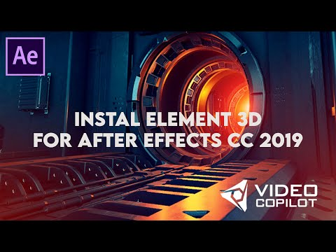 Cara Instal Element 3D After Effects CC 2019 (Free Download)