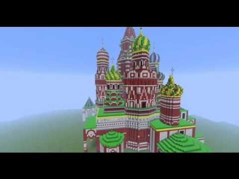 St Basil S Cathedral With Schematic Download Minecraft