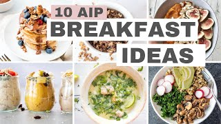 10 AIP Breakfast Ideas (Autoimmune Protocol Diet)