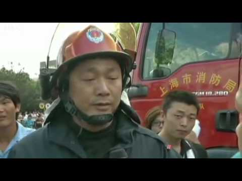 Shanghai chemical leak 'kills 15'