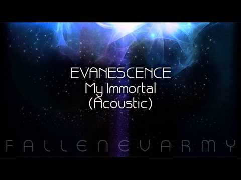 Evanescence  My Immortal Acoustic