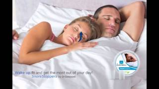 Stop Snoring Today with SnoreStoppers by DrSleepwell
