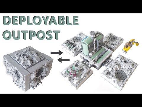 Lego Deployable Asteroid Mining Outpost MOC