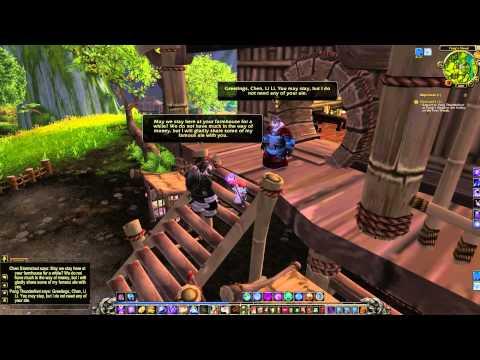 Chen and Li Li Quest - World of Warcraft
