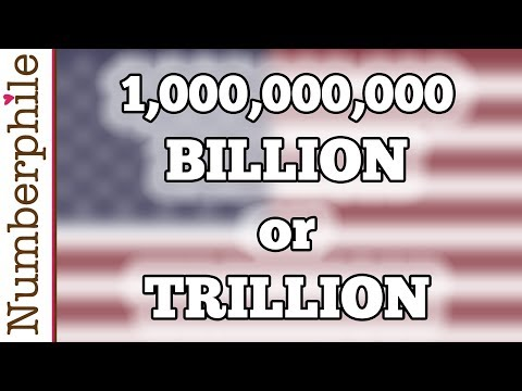 How Big Is A Billion? - Numberphile