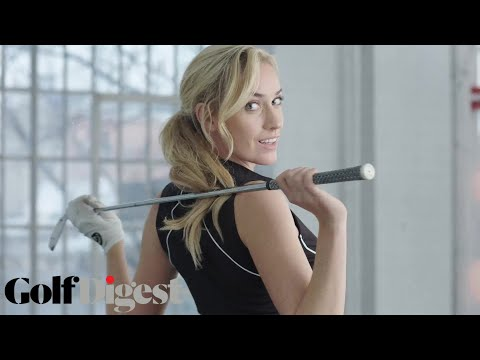 Paige Spiranac Has 3 Hip Exercises for Longer Drives | Total Golf Workout | Golf Digest