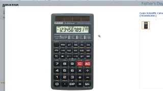 Math 1.5 Scientific Calculator Use