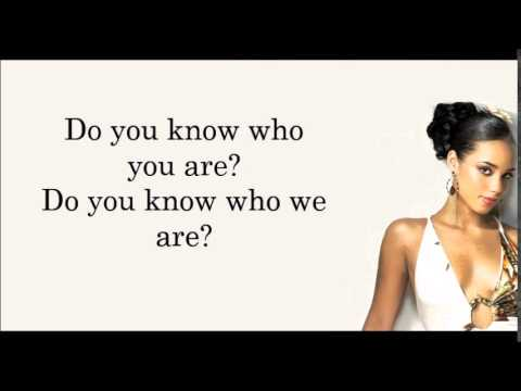 Alicia Keys - We Gotta Pray Lyrics