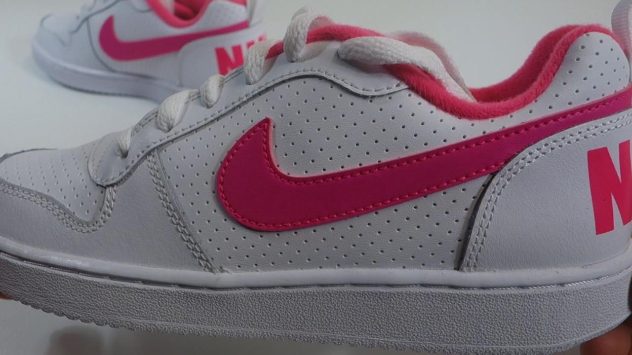 buy popular 1da63 87693 Dětské volnočasové boty NIKE COURT BOROUGH LOW