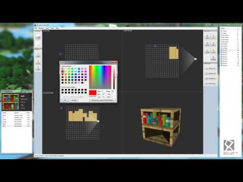 Bdcraft cubik pro tutorial 2 bookshelf learn more Minecraft 3d model maker