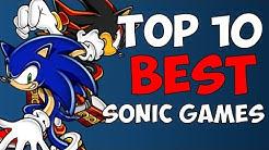 Top 10 BEST Sonic Games! - Diamondbolt